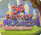 Fantasy Mosaics 36: Medieval Quest המשחק