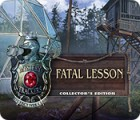 Mystery Trackers: Fatal Lesson Collector's Edition המשחק
