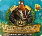 Steve the Sheriff 2: The Case of the Missing Thing Strategy Guide המשחק