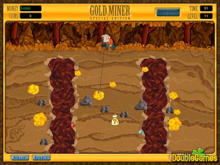 Play gold miner special edition free online games with qgames. Org.
